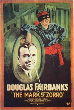 Постер фильма Знак Зорро (1920)