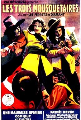 Постер фильма Три мушкетера (1921)