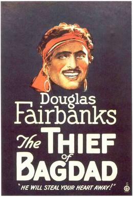 Постер фильма Багдадский вор (1924)