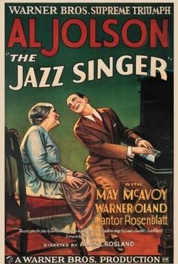 Постер фильма Певец джаза (1927)