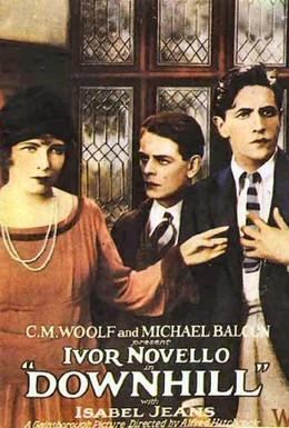 Постер фильма По наклонной плоскости (1927)