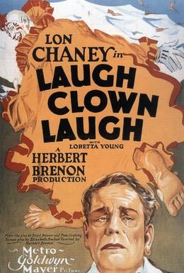 Постер фильма Смейся, клоун, смейся (1928)