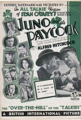 Постер фильма Юнона и Павлин (1930)
