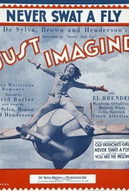 Постер фильма Только представьте (1930)