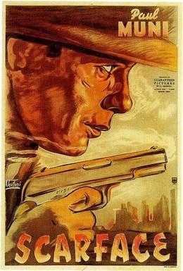 Постер фильма Лицо со шрамом (1932)