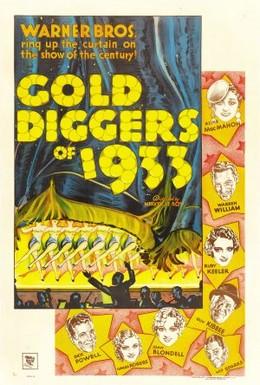 Постер фильма Золотоискатели 1933-го года (1933)