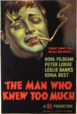 Постер фильма Человек, который слишком много знал (1934)