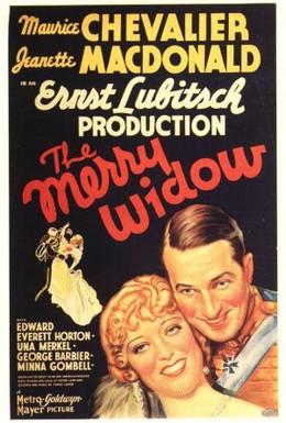 Постер фильма Веселая вдова (1934)