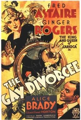 Постер фильма Веселый развод (1934)
