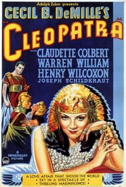 Постер фильма Клеопатра (1934)