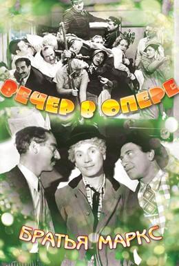 Постер фильма Вечер в опере (1935)