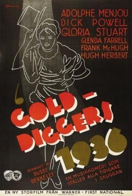 Постер фильма Золотоискатели 1935-го (1935)