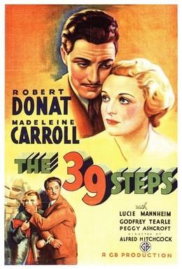 Постер фильма 39 ступеней (1935)