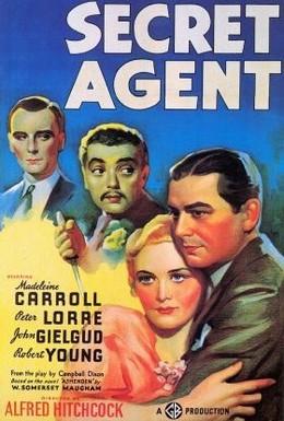 Постер фильма Секретный агент (1936)
