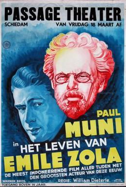 Постер фильма Жизнь Эмиля Золя (1937)