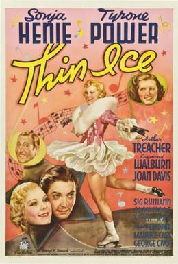 Постер фильма Тонкий лёд (1937)