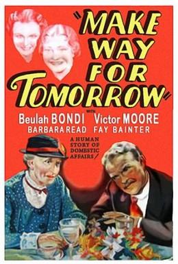 Постер фильма Уступи место завтрашнему дню (1937)