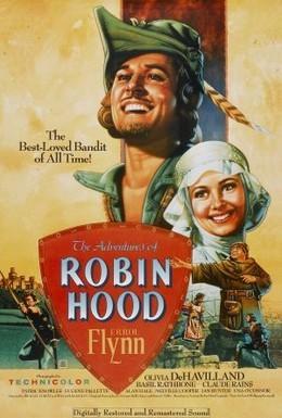 Постер фильма Приключения Робин Гуда (1938)