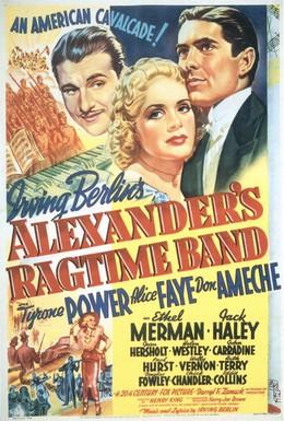 Постер фильма Рэгтайм Бэнд Александра (1938)