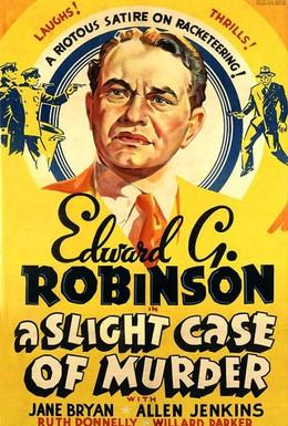 Постер фильма Простенькое дело об убийстве (1938)