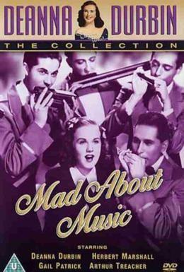 Постер фильма Без ума от музыки (1938)