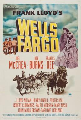 Постер фильма Уэллс Фарго (1937)