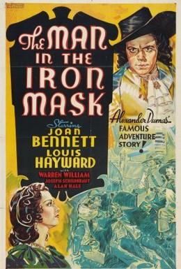 Постер фильма Человек в железной маске (1939)