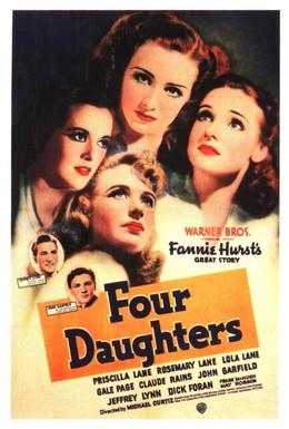 Постер фильма Четыре дочери (1938)