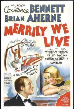 Постер фильма Весело мы живём (1938)