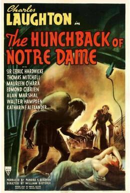 Постер фильма Горбун Собора Парижской Богоматери (1939)