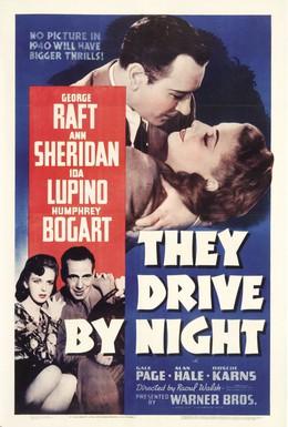 Постер фильма Они ехали ночью (1940)