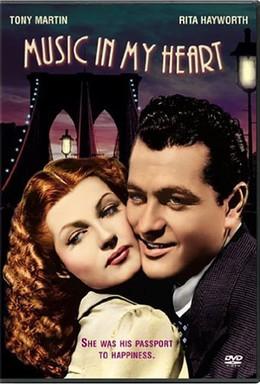 Постер фильма Музыка в сердце моем (1940)