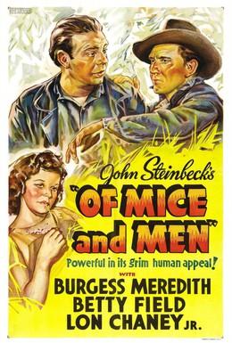 Постер фильма О мышах и людях (1939)