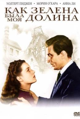 Постер фильма Как зелена была моя долина (1941)
