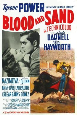Постер фильма Кровь и песок (1941)