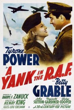 Постер фильма Янки в королевских ВВС (1941)