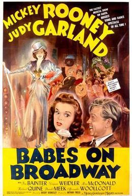 Постер фильма Юнцы на Бродвее (1941)