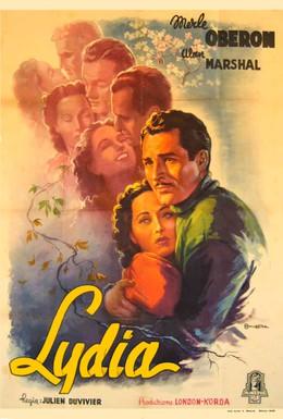 Постер фильма Лидия (1941)