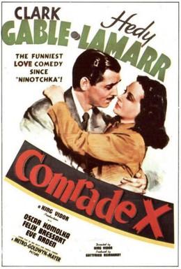 Постер фильма Товарищ Икс (1940)