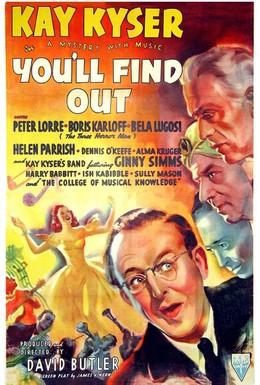 Постер фильма Вы узнаете (1940)