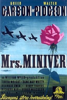 Постер фильма Миссис Минивер (1942)