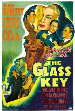 Постер фильма Стеклянный ключ (1942)
