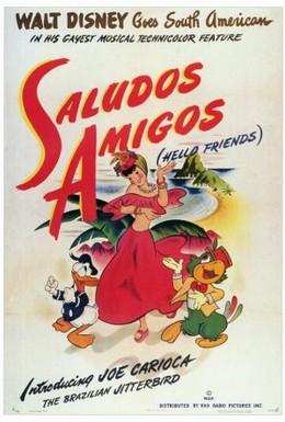 Постер фильма Салют, друзья! (1942)
