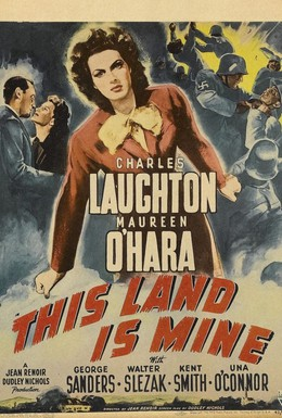 Постер фильма Эта земля моя (1943)