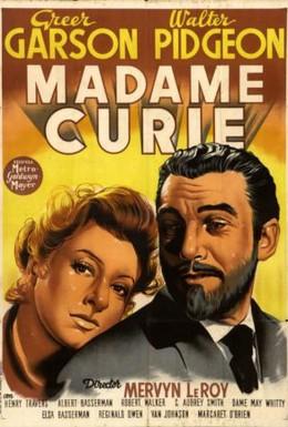 Постер фильма Мадам Кюри (1943)
