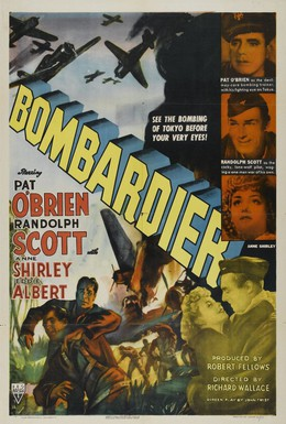 Постер фильма Бомбардир (1943)