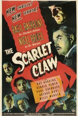 Постер фильма Шерлок Холмс: Багровый коготь (1944)