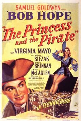 Постер фильма Принцесса и пират (1944)