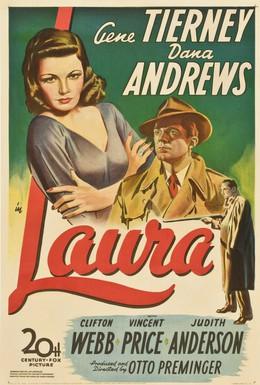 Постер фильма Лора (1944)