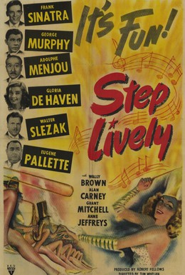 Постер фильма Шагай веселее (1944)